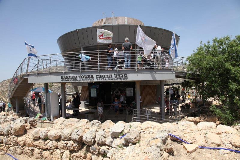 מאות חרדים נהנו במרכז המבקרים שילה הקדומה