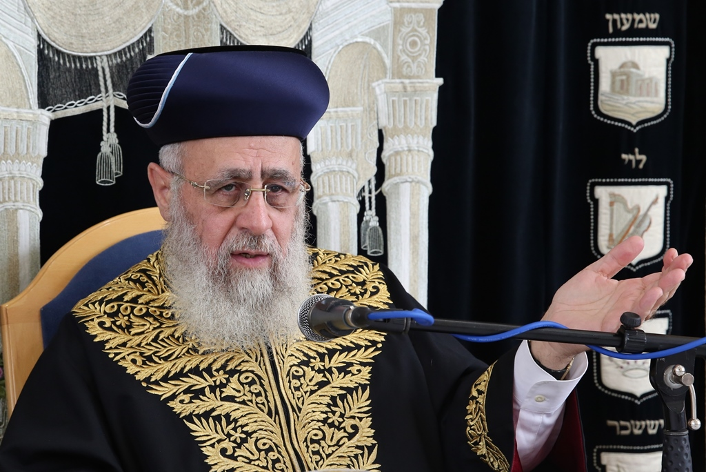 השופט הצדיק את התלונה על הרב יצחק יוסף: