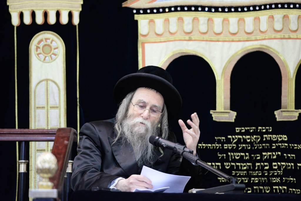 Erlauer Rebbe in Viznitz