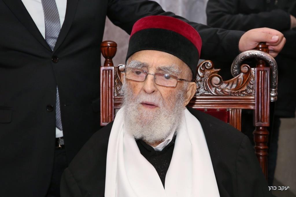 """בן 100: זקן הרבנים רבי יהושע מאמאן זצ""""ל"""
