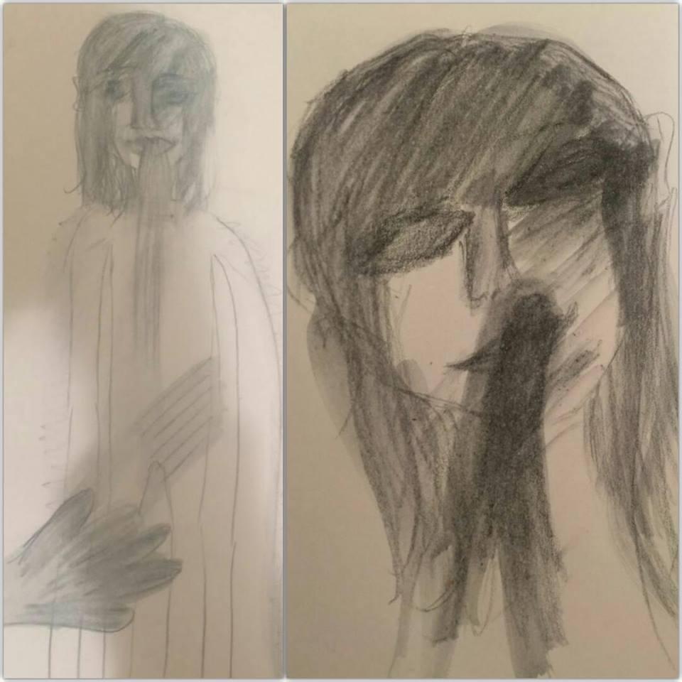 הציורים של שין - שתיקה שבכאב
