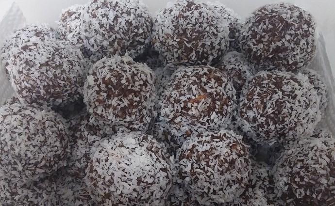 כדורי שוקולד ללא גלוטן - מתכון