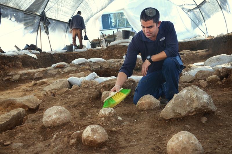 מכאן פרצו הרומאים לירושלים לפני 2000 שנה