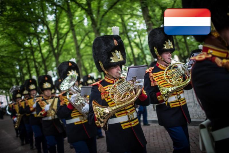 חי: ותיקי הצבא ההולנדי צעדו בסדר מופתי