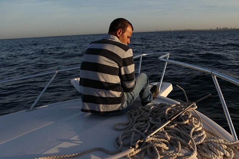 """צה""""ל ירה על דייג, והפלסטינים השיבו אש"""