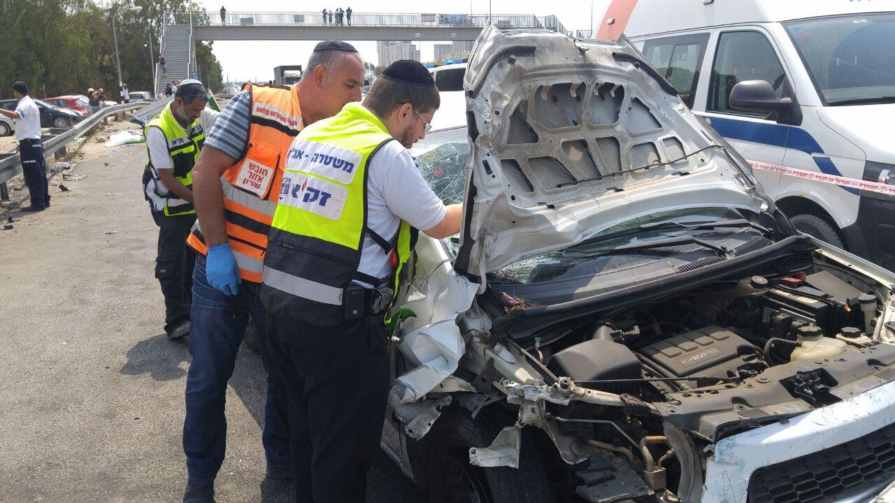 13 נפצעו בתאונה הבוקר; תינוקת במצב קשה