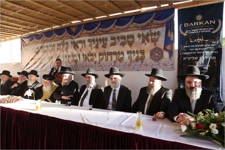 הרבנים הראשיים לירושלים בירכו על יינות ברקן בחג