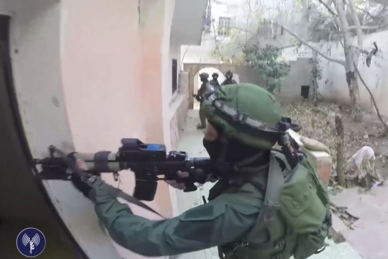 IDF operations in the West: Five sought trapped