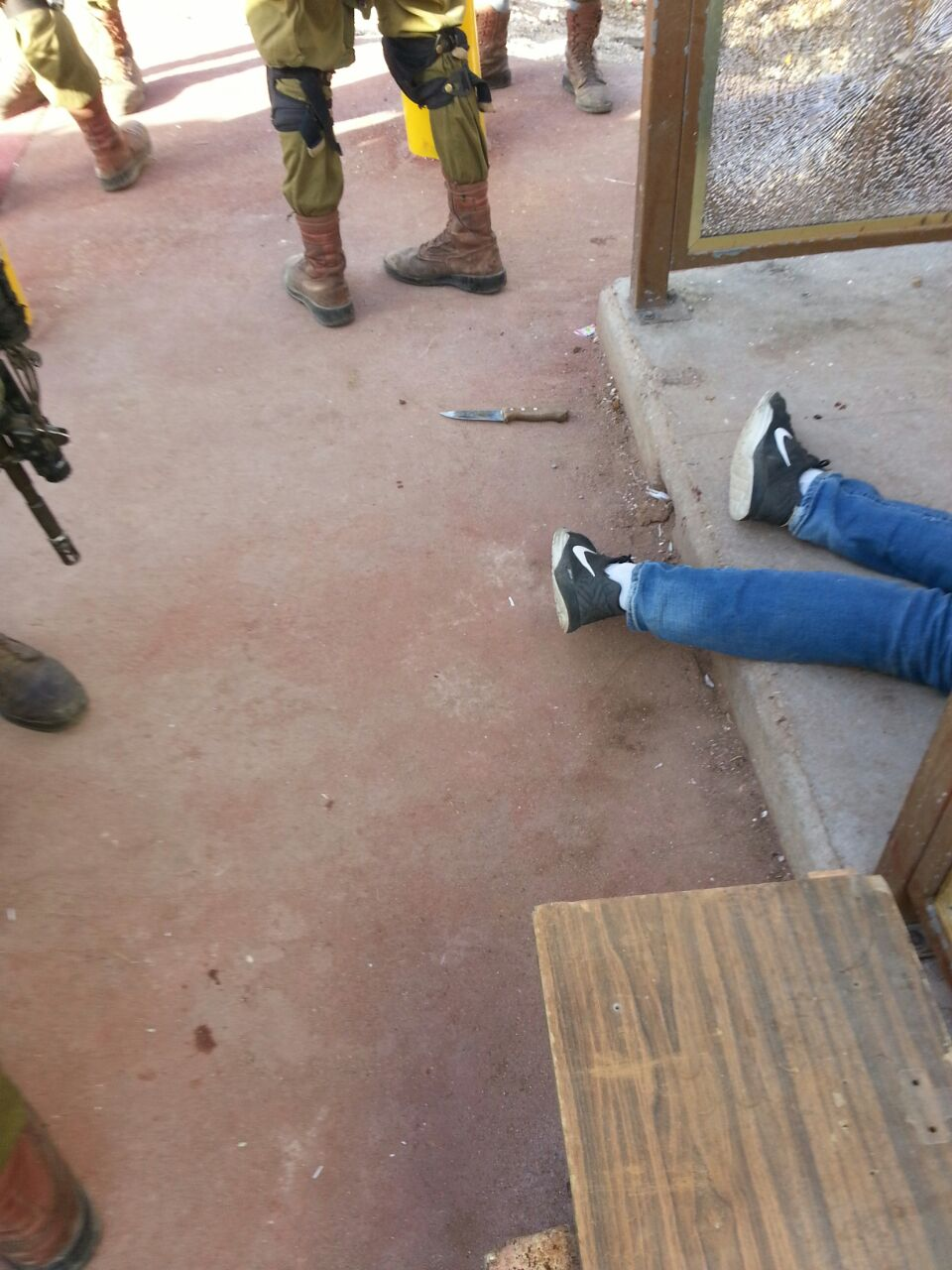 Shabbos Afternoon Stabbing Terror Attack- Terrorist Eliminated