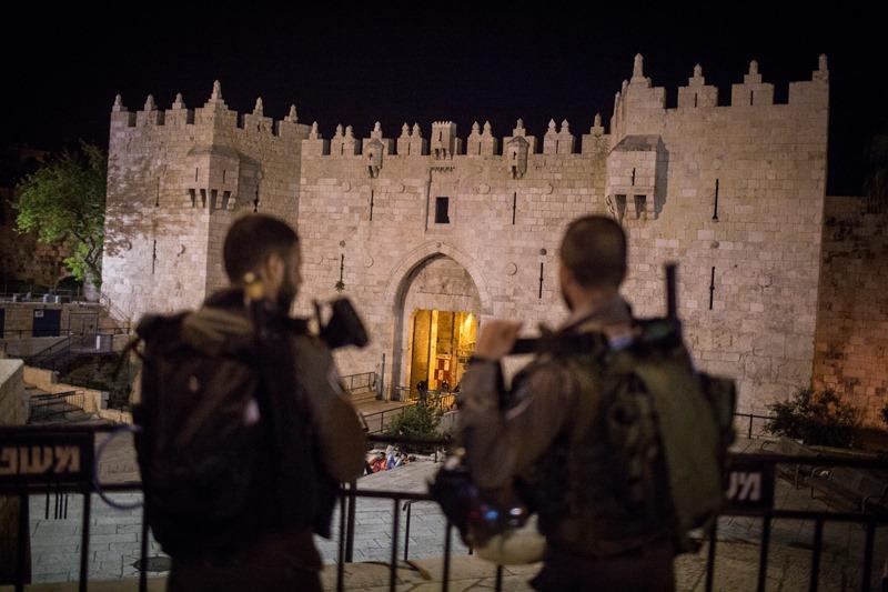 """בכניסת השבת: לוחמת מג""""ב נרצחה בפיגוע בשער שכם בירושלים"""