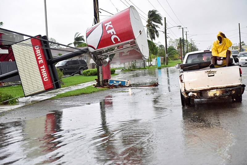 אירמה מכה בפלורידה: צפו בשידור חי