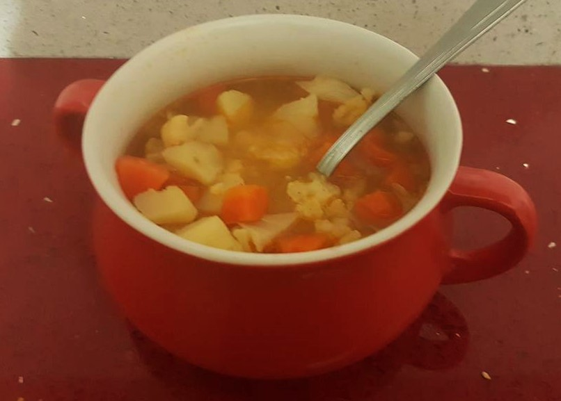 מרק כרובית חם לערב סגריר