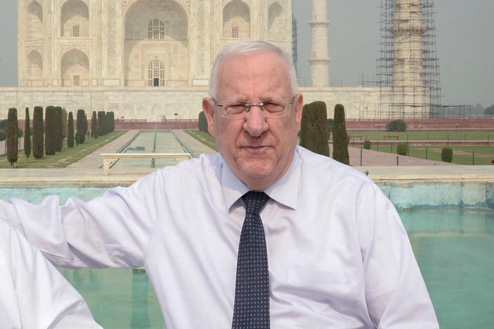 """הרל""""שית החרדית של הנשיא הורעלה בהודו"""