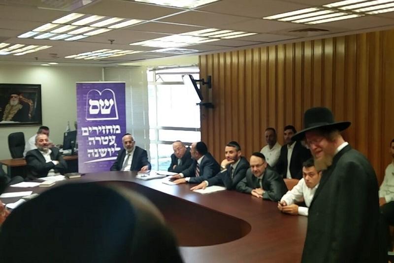 Sorotzkin goes to the Knesset on behalf of religious prisoners