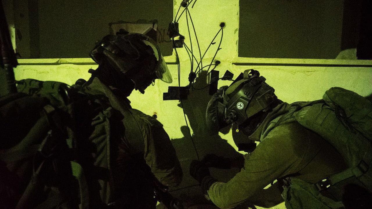 Israeli Forces Destroy Home of terrorist