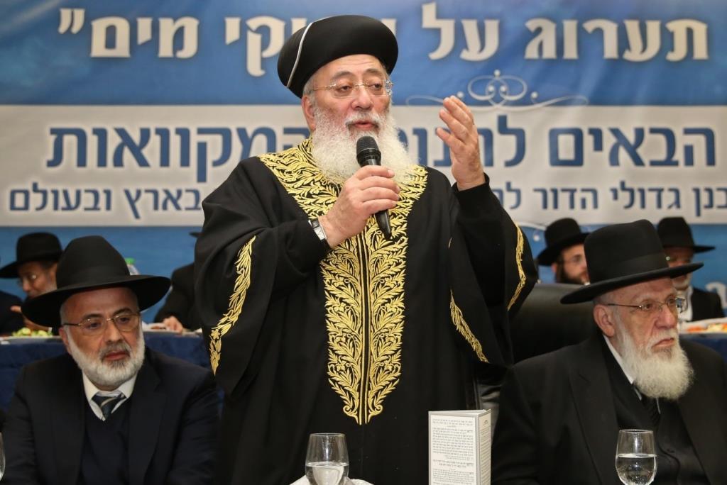 הרב עמאר הוזמן: האם האבל יגבר על המחלוקת?