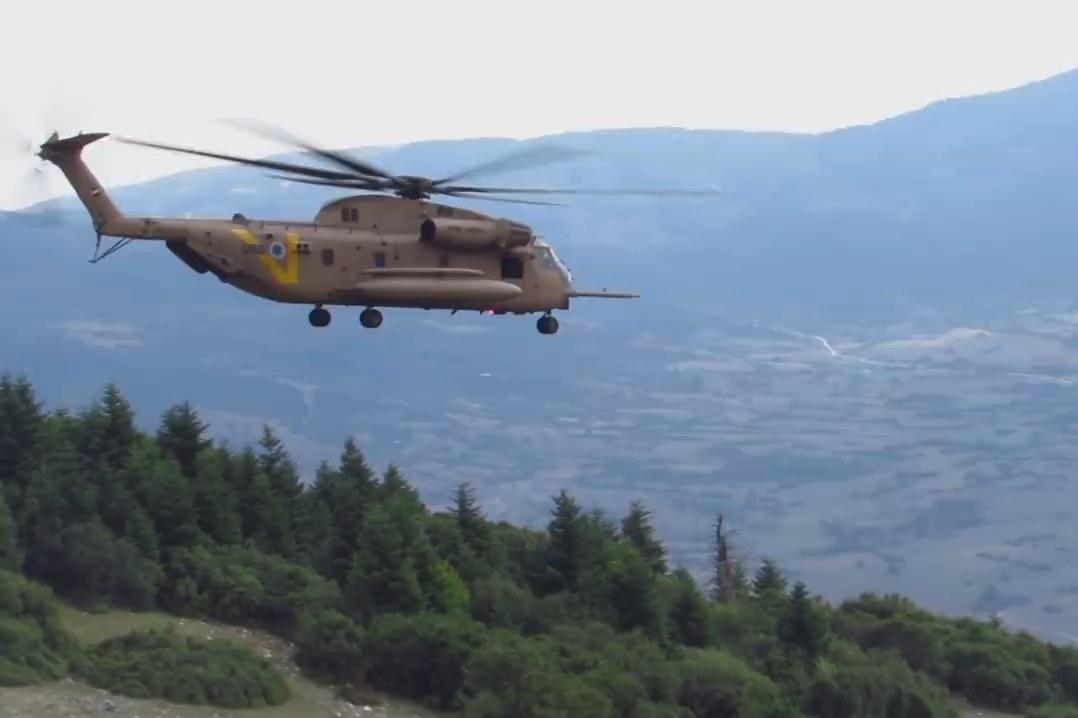צפו: חיל האוויר בתרגיל משותף עם צבא יוון
