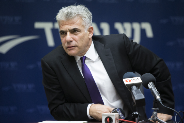 "Yair Lapid to remove Inciteful Video: ""I Made a Mistake"""