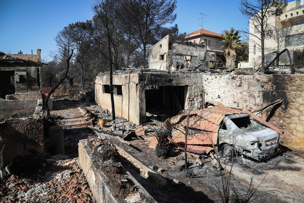 Fund Set Up To Help Neve Tzuf Fire Victims