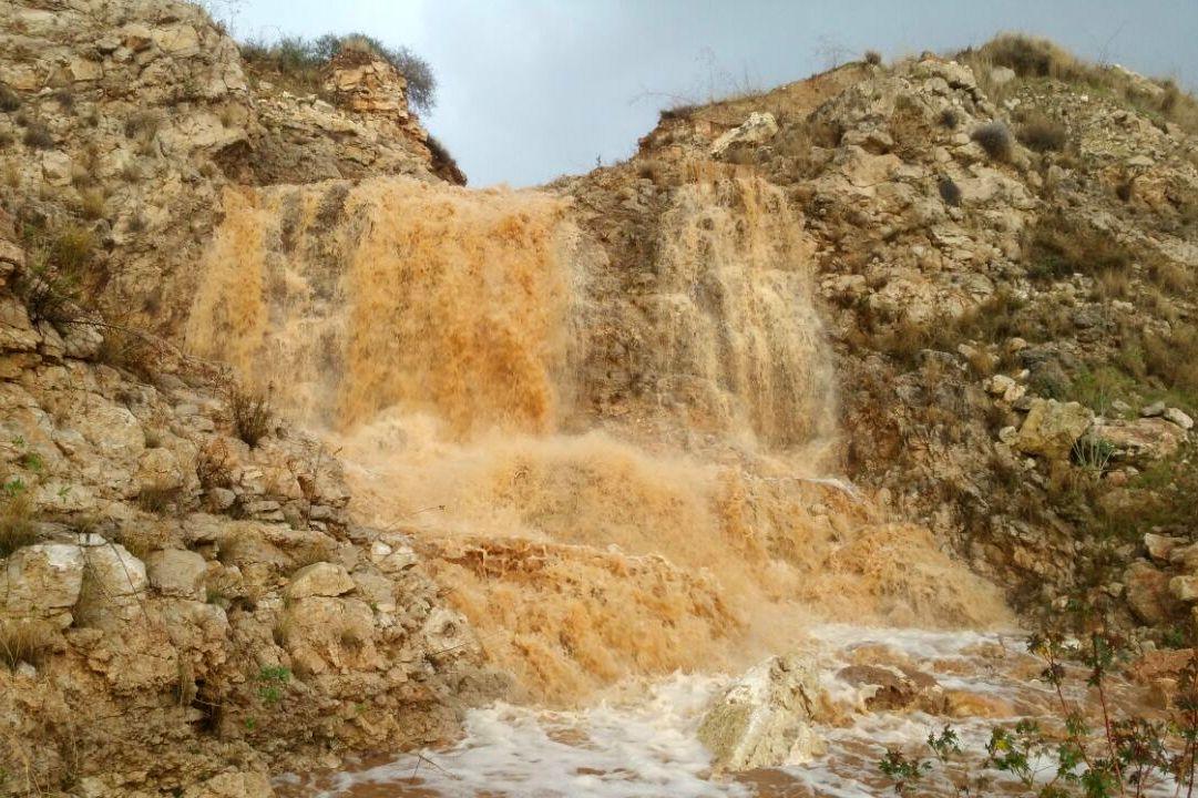 מפל חדש נולד ליד אלעד • תיעוד מרהיב