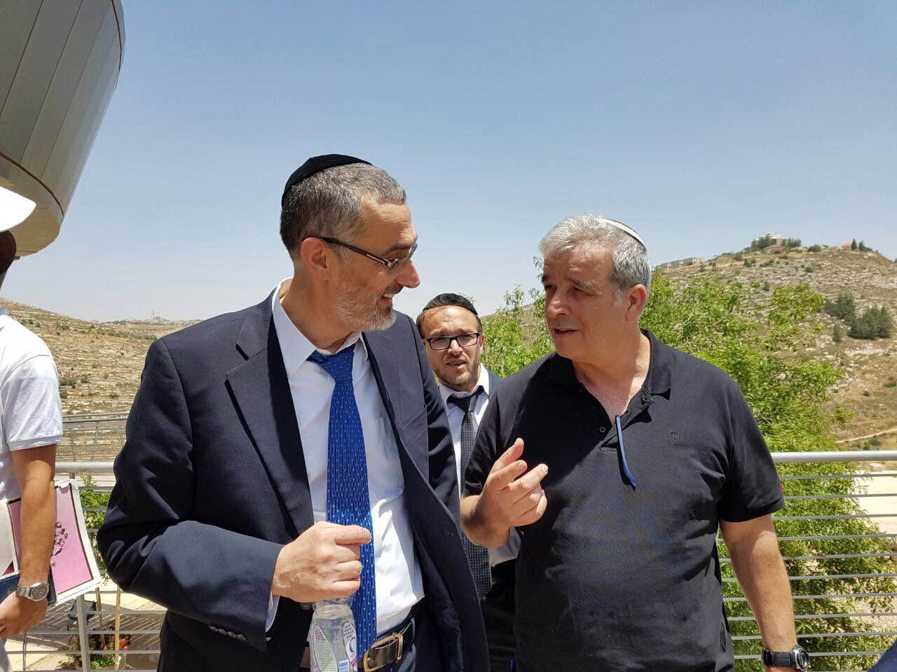 סגן ראש העיר ירושלים ביקר בשילה הקדומה