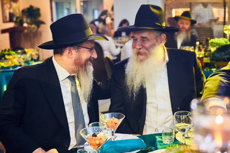 The Tzaddik of Leningrad celebrates his 70th in Moscow