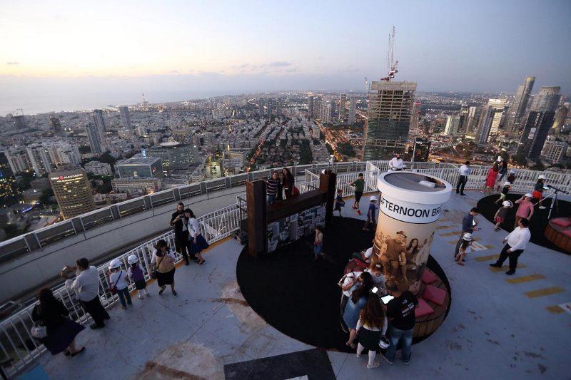 צפו: מובילי דעת הקהל החרדי נפגשו על גג העולם