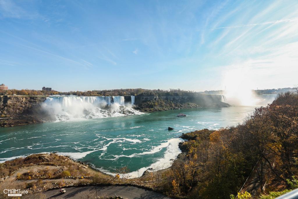 עוצר נשימה: תיעוד ענק ממפלי הניאגרה