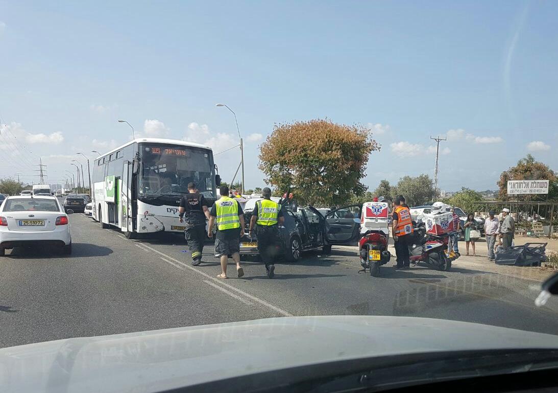 תיעוד וידאו: עשה פרסה - ונהרג מאוטובוס