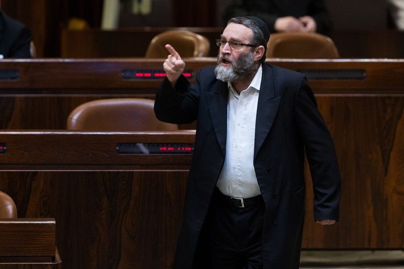 """""""הבית היהודי מתנגדים לחוקים שהצעתי - בגלל הכיפה השחורה"""""""