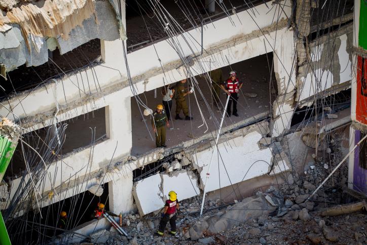 North Tel Aviv disaster