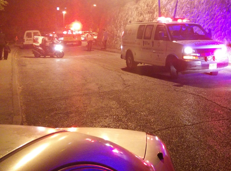 A year and a half-year-old fell from a 4th floor Yerushalayim