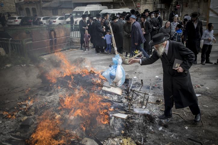 אש בבירה: החמץ של מאה שערים נשרף • צפו
