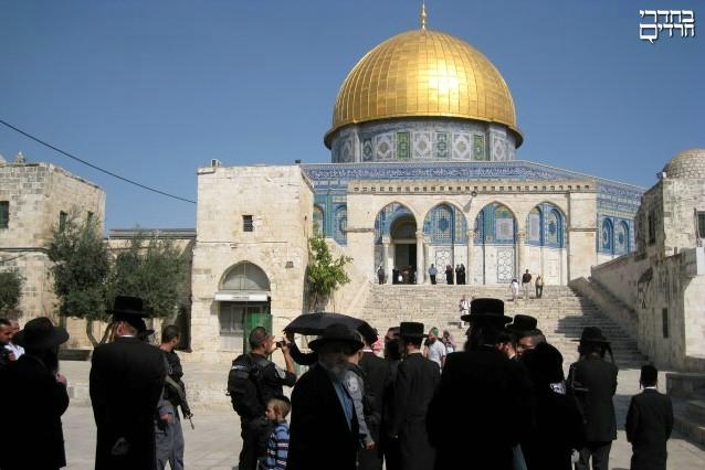 תביעה: הבנקים מסרבים לממן את בניית בית המקדש