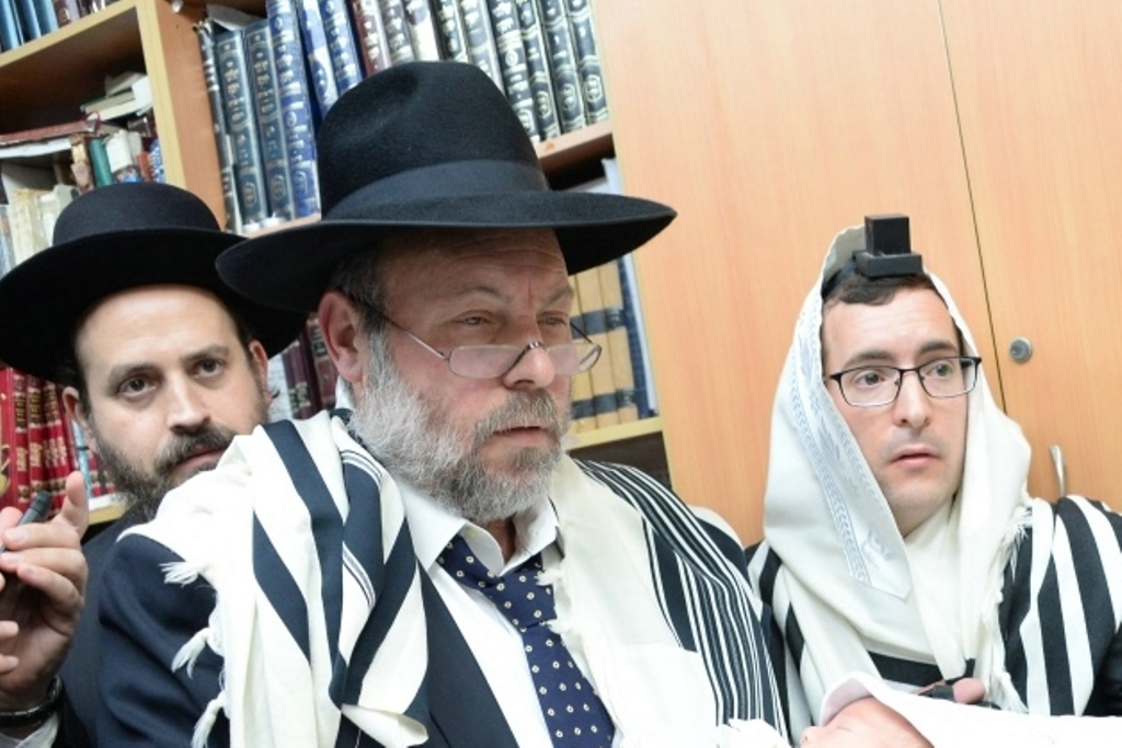הרב ישראל פרידמן. צילום: שוקי לרר