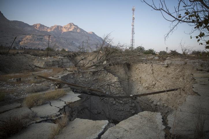 היישוב הראשון בישראל שעלול ליפול בגלל אסון אקולוגי