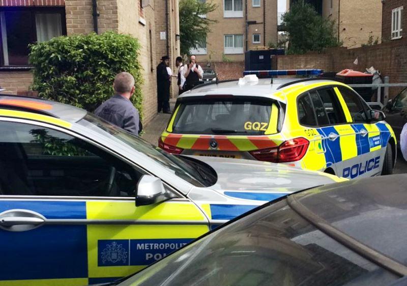 חשד לטרור בלונדון: פצועים באירוע דריסה