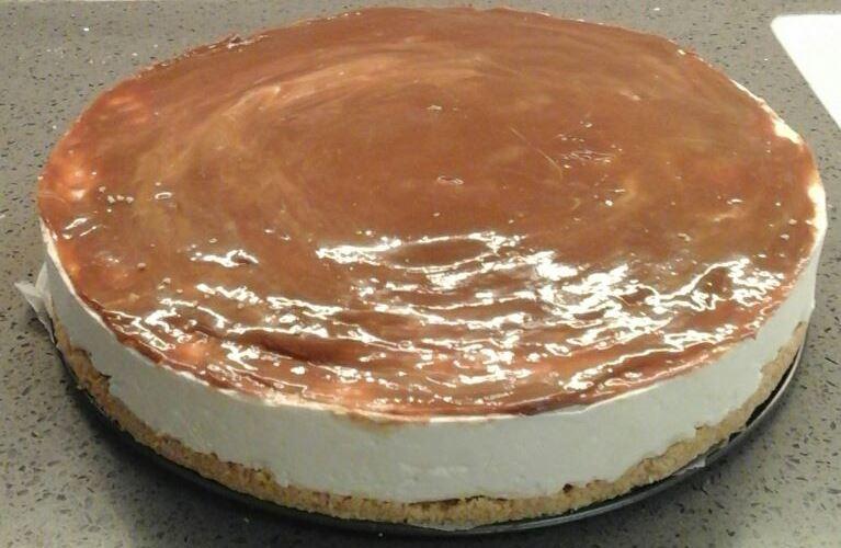 עוגת גבינה משובחת - ללא אפיה