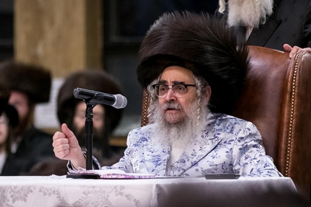 ביקור בזק: הרבי מסאטמר יגיע לישראל
