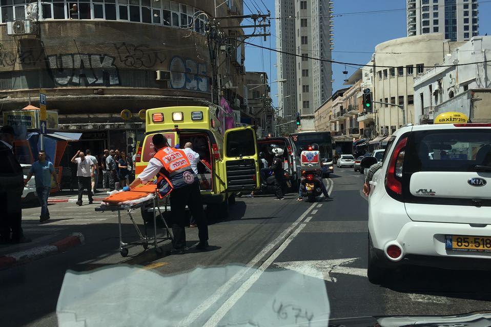 אירוע הדריסה בתל אביב - תאונת דרכים