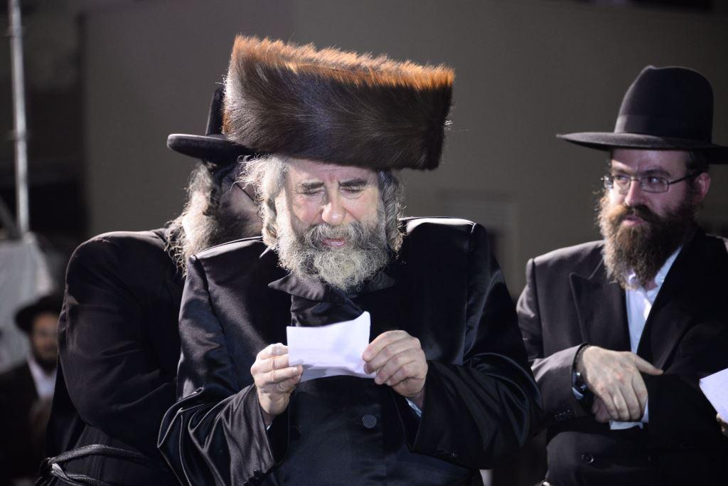 הרבי מרחמסטריווקא במירון: זמני ואירועי השבת