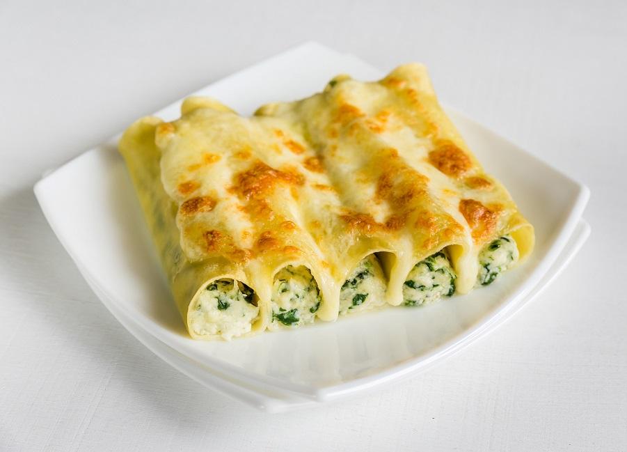 מעדן איטלקי: קנלוני ממולא בחצילים וגבינה/שף יוגב ירוס