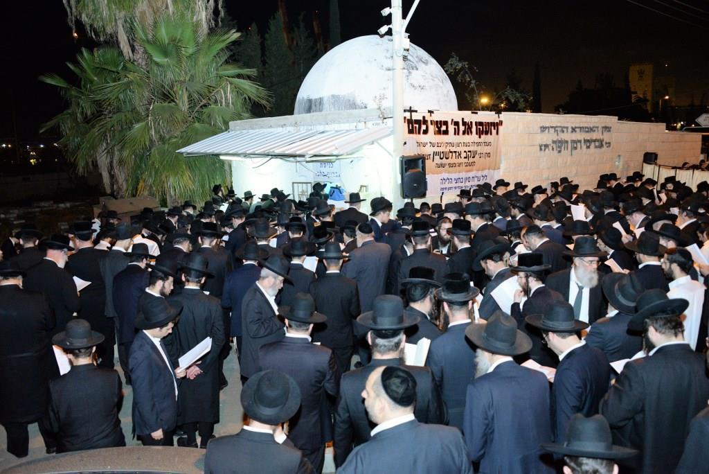 תחינה לזיווג הגון: ההמונים זעקו אצל רבי אבדימי דמן חיפה