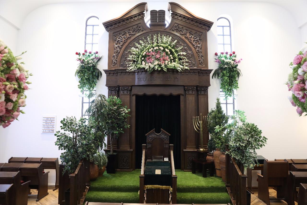 עיצוב מדהים לבית כנסת