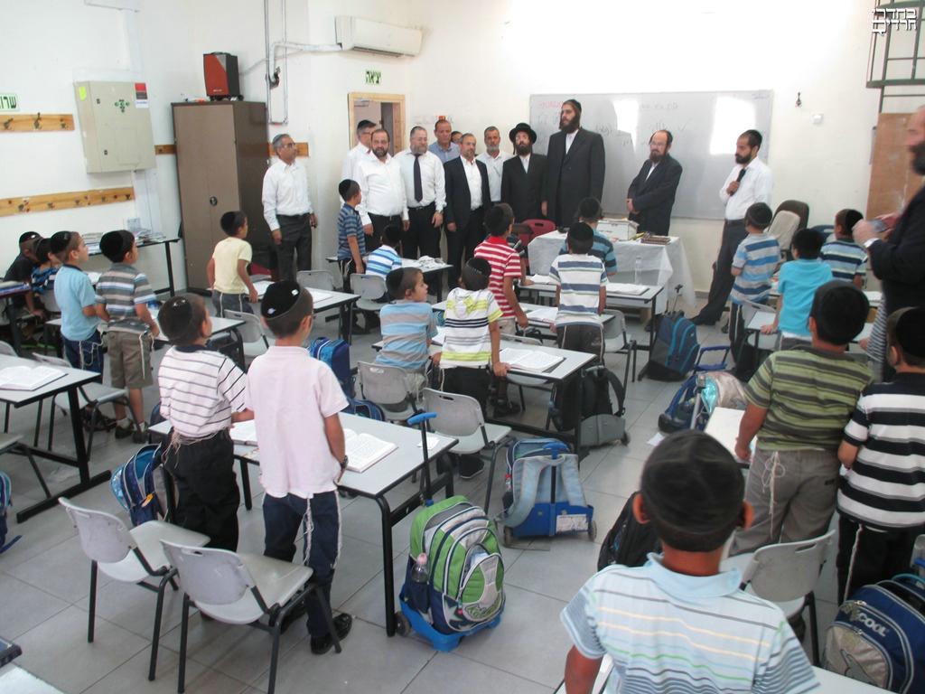 שנת הלימודים באלעד נפתחה כסדרה • צפו