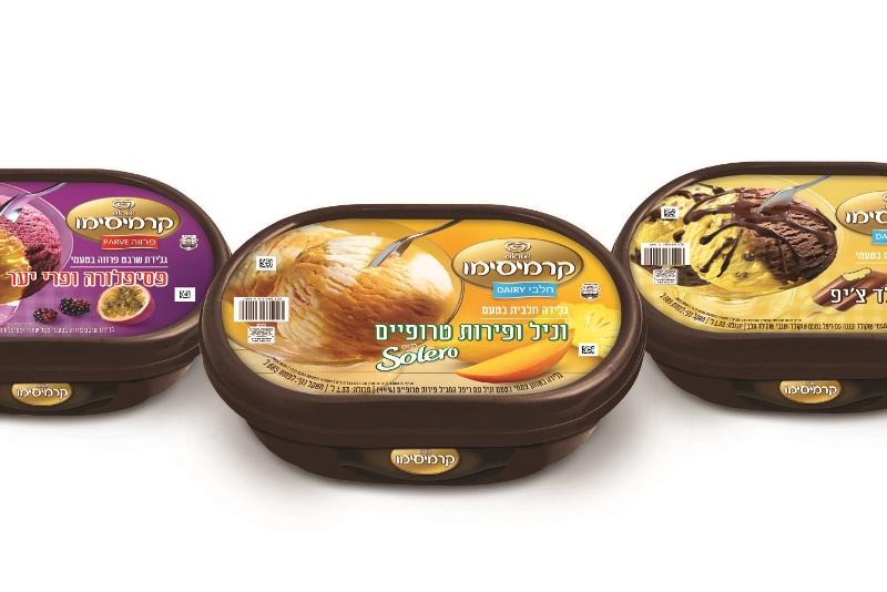 שטראוס פותחת את הקיץ עם גלידות קרמיסימו בטעמים חדשים ומלהיבים