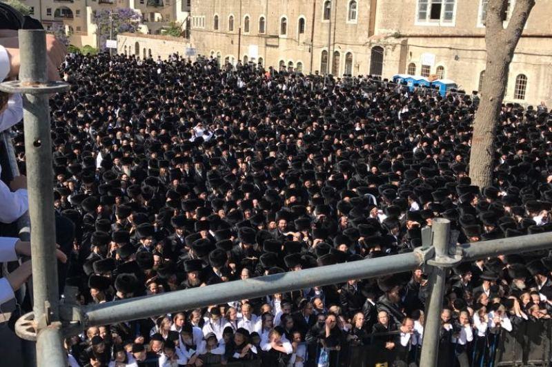 חופת גור בשנלר: מלכי ישראל נחסם לתנועה