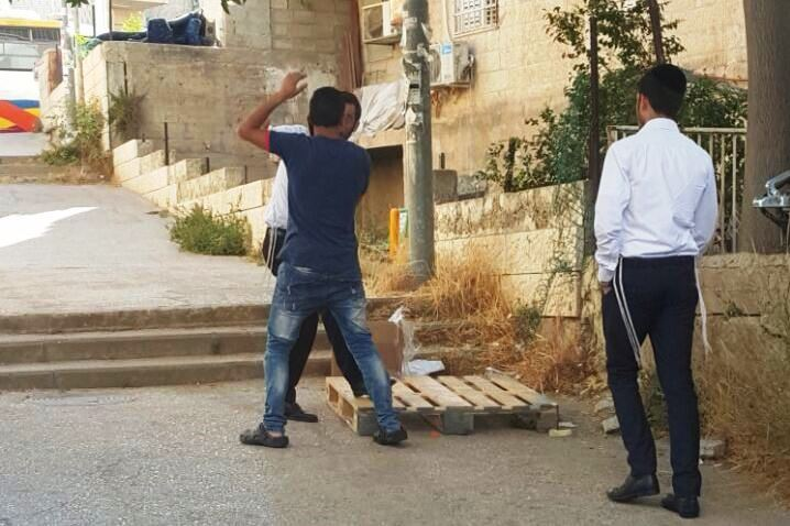Arab Teen Apprehended In Yerushalayim With Large Knife