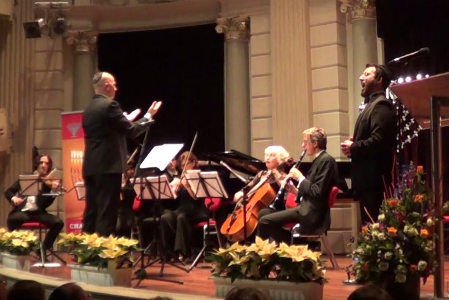 החזן החרדי ביצע את היצירה האיטלקית באמסטרדם • וואו!