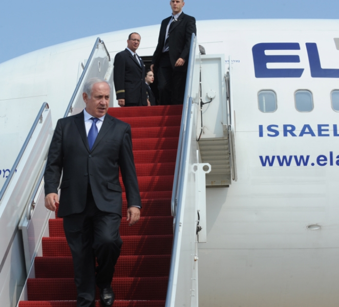 Why Netanyahu Slept On The Floor On The Way To Paris